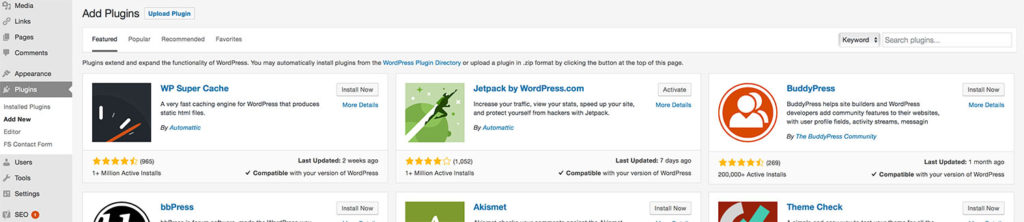 Search for Your WordPress Plugin